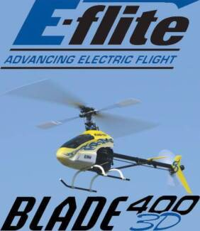 Blade 400 3D Model Helicopter