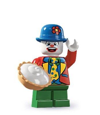 LEGO Small Clown Minifigure 8805 Series 5 New Sealed