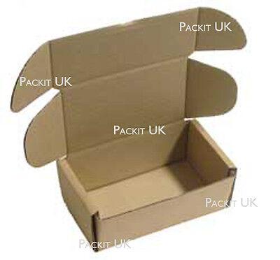 5 Postal Storage Cardboard Boxes 6 x 3.5 x 2.5