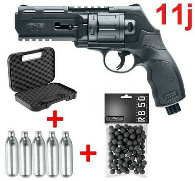 Pack Revolver Paintball HDR 50 Umarex 11J Home Defense T4E