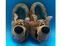 SCOOBY DOO boys infant size 8 NEXT slippers like new!