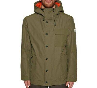 HOLDEN Men's HOODED DECK Snow Jacket - Olive - Large - NWT