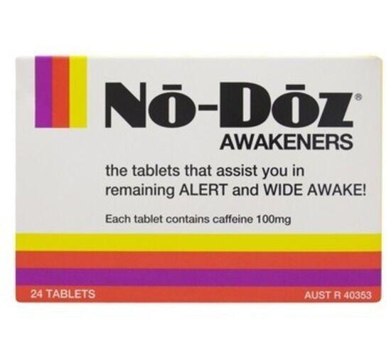 DJP NEW No Doz Awakeners 24 Tablets