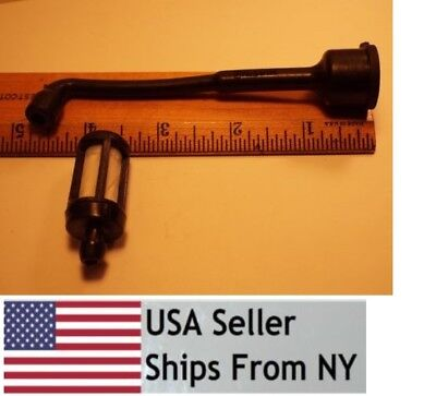 STIHL CHAINSAW 020 020AV GAS FUEL LINE HOSE WITH FILTER NEW # 1114 358 7700