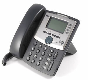 Linksys SPA-942 4 line VoIP phone.