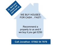 NG6 Houses Wanted. Cash Paid, Whatever the Condition!
