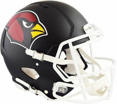 Riddell Arizona Cardinals Black Matte Alternate Speed Mini Football (Arizona Cardinals Football Helmet)