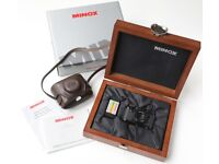 LEICA MINOX 111F Plus leather case