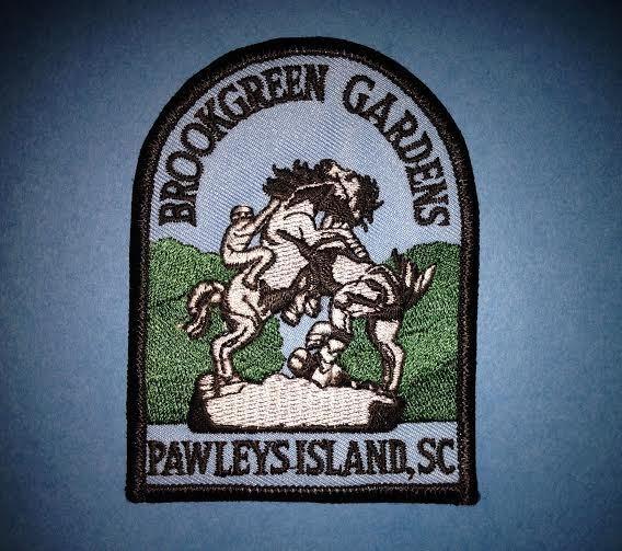Brookgreen Gardens Pawleys Island South Carolina Hat Jacket Vest Travel Patch