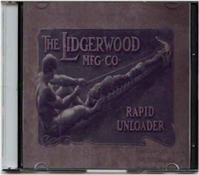 1901 Lidgerwood Rapid Unloader Sales Catalog on CD - Pat 1892