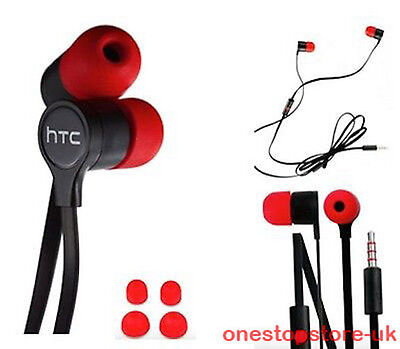 HTC By BEATS Headphones Earphones + Mic Fits M9 M8 M7 iPhone 6 6S Plus 5S 5C