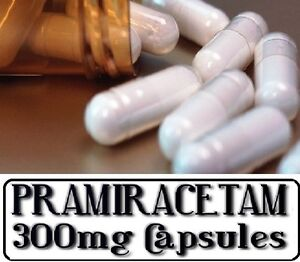 PRAMIRACETAM-Nootropic-awareness-well-being-stess-Multiple-Size-300mg-CAPS