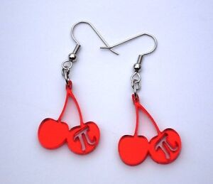 Math Inspired Earrings - Pi Sum Infinity Unreal -Teacher Student Geek Awesome!!!