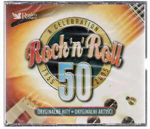 ROCK'N'ROLL 4 cd's Half Century of Rock and Roll - Poznan, Polska - ROCK'N'ROLL 4 cd's Half Century of Rock and Roll - Poznan, Polska