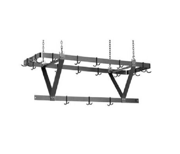 Eagle Group CM60APR, 52-Inch Aluminum Ceiling Mounted Rack