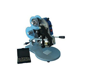220v Manual Number Words Date Coding Machine Hot Stamp Printer New