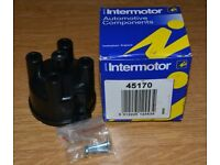 Car Spares - distributor cap, rotor arm and oil filters