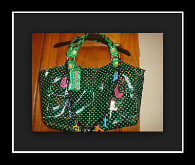 BETSEYVILLE NEW Cirque De La Betsey Johnson Large Purse Tote Bag Satchel