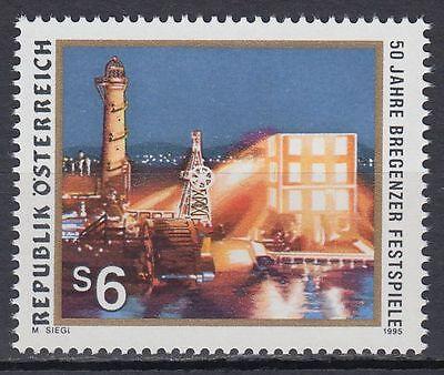 Österreich Austria 1995 ** Mi.2160 Bregenz Festival Wagner Oper Musik Music