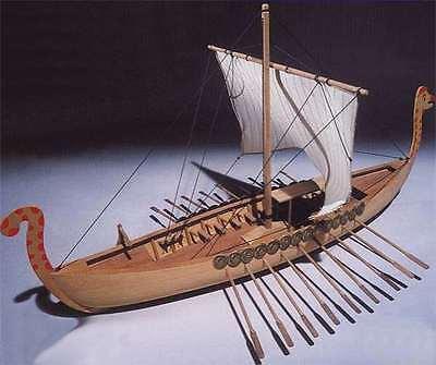 "Beautiful, brand new Mantua wooden model ship kit:  the ""Viking""        (Ma 780)"