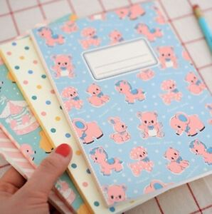 Kawaii-Afrocat-Vintage-Choco-Label-Notebook
