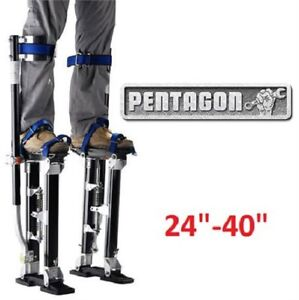 "Pentagon Tools 24""-40"" and 18"" - 30"" Drywall Stilts NEW..$175."