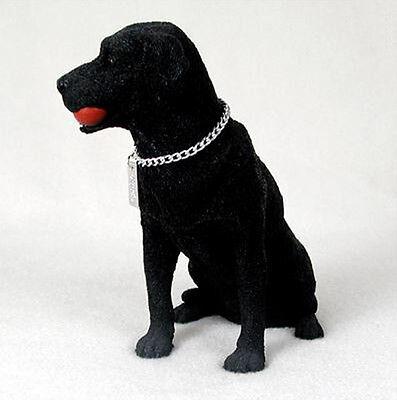 LABRADOR RETRIEVER LAB (BLACK) MY DOG Figurine Statue Pet Lovers Gift Resin ()