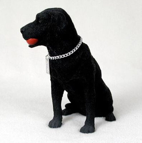 LABRADOR RETRIEVER LAB (BLACK) MY DOG Figurine Statue Pet Lovers Gift Resin