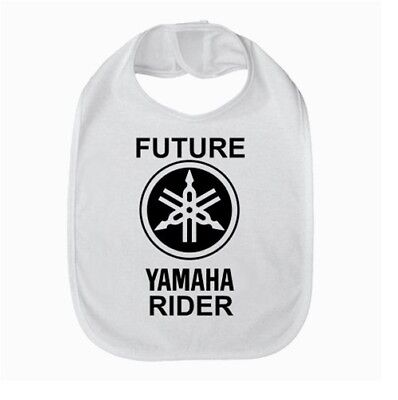 FUTURE YAMAHA RIDER BABY BIB FEEDER BURP CLOTH 84578917