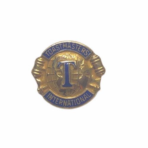 Toastmasters International Pin 1/10 10k Gold-Filled Lapel Pin Tick Tack