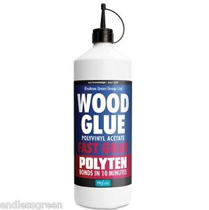 Humbrol polyten adhesive dries clear pva strong for Craft glue that dries clear