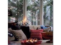"Set of 3 New 3"" Plain Clear Thick Glass Holders For Votive & Tea Light Candles,Terrariums etc..."