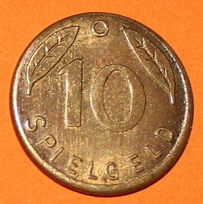 Münze SPIELGELD 10 Pfennig 1949 Deutschland germany Play Money