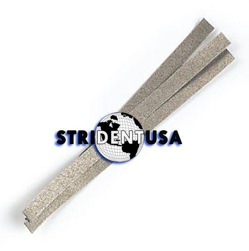 36 Dental Polishing Strips Stainless Steel 4 mm  Medium Grit (ONE SIDE)