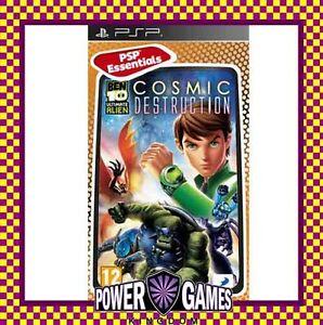 Ben 10 Ultimate Alien Cosmic Destruction Essentials (Sony PSP) Brand New