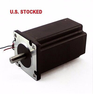 1pcs Nema23 570ozin 5a 14 Dual Shaft Stepper Motor
