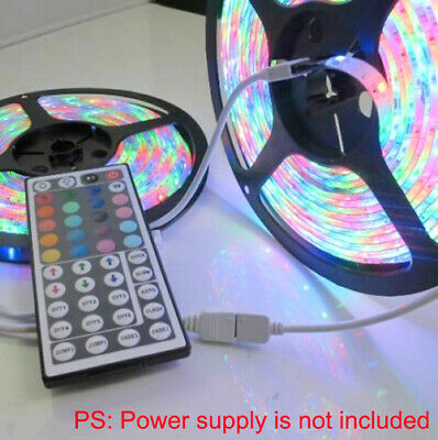 10M 32FT 3528 Waterproof SMD RGB 600LEDs LED Light Strip 44Key IR Remote Control 3528 Smd Led Strip