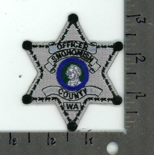 WASHINGTON WA SNOHOMISH COUNTY SHERIFF NEW PATCH POLICE