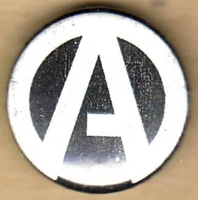 Button - ATREYU - A Team Pac Man Anchor -Pinback Style-Logo 1 Inch-LICENSED NEW
