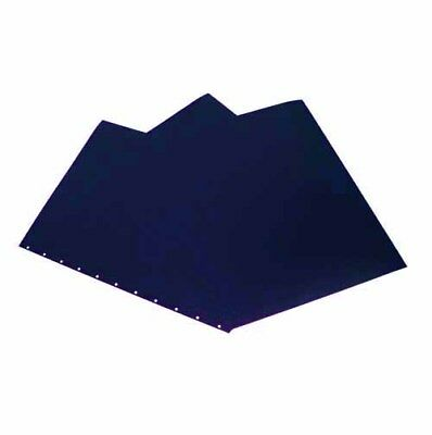 New Gbc Navy 8.5 X 11 Velobind Punched Regency Covers 200pk - 9742470