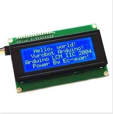 Blue Serial Iici2ctwi 2004 204 20x4 Character Lcd Module Display For Arduino