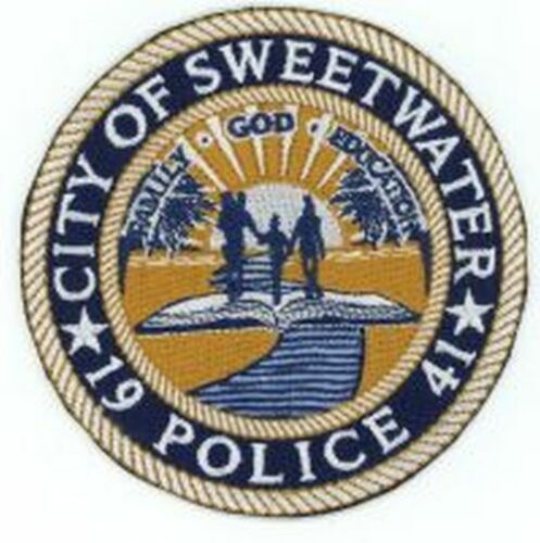 SWEETWATER FLORIDA FL POLICE COLORFUL PATCH SHERIFF