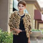 Rabbit Fur Leopard for Women
