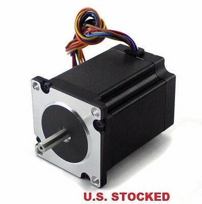 4pcs Nema23 282ozin 3a Stepper Motor Dual Shaft