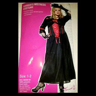 TORRID NEW Plus Size1X 2X 16 18 20 COSTUME Black Gothic Witch Vampire Halloween (Torrid Halloween Costumes Plus Size)
