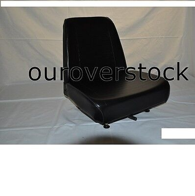New Universal Vinyl Forklift Seat Fits Clark Cat Hyster Yale Toyota Mitsubishi