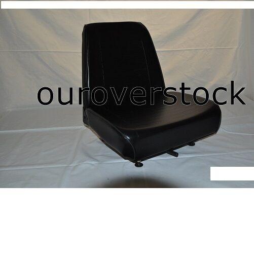 Forklift Seat - Universal - Vinyl - New - Cheap Freight