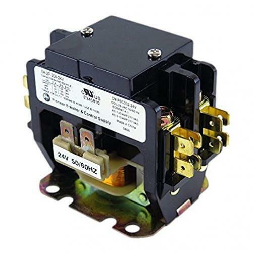 DP30C2P-F AC Heating Contactor Air Condition HVAC 30A 2P 24V 30 FLA 40 RES