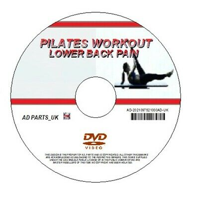 LEARN PILATES FOR LOWER BACK PAIN RELIEF VIDEO WORKOUT FITNESS HEALTH ON DVD