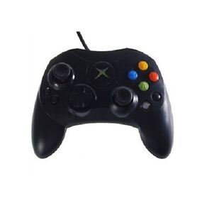 Dual-Shock-Wired-Game-Pad-Controller-for-MICROSOFT-xBox-Vibration-S-Type-Black